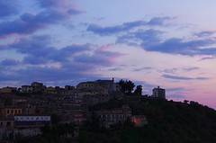 Arpino by sunset (SS) Tags: sunset summer sky colors night clouds composition view pentax cloudy august 2012 k5 arpino ss