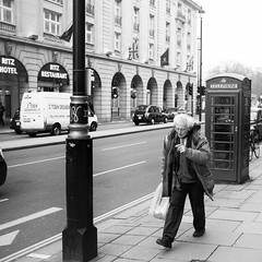 The Mad Professor (Nick Lambert!) Tags: street uk blackandwhite bw london fuji streetscape theritz themadprofessor fujix100 fujinonasphericallens