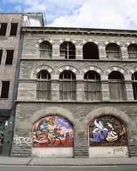 (e_alnak) Tags: hair monkey illustrative expressive trombone tagging abandonedbuilding bristolgraffiti carriageworks brizzle inkie sepr ealnak byzantinerevivalarchitecture inknouveau inkiegraffiti crimeincorporatedcrew