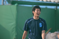 DSC_0384 (mechiko) Tags: 横浜ベイスターズ 130202 王溢正 横浜denaベイスターズ