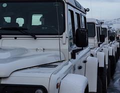 Jeeps (Guruinn) Tags: jeeps row line february febrar 2013 jeppar r jeppi fjallablar