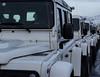 Jeeps (Guruinn) Tags: jeeps row line february febrúar 2013 jeppar röð jeppi fjallabílar