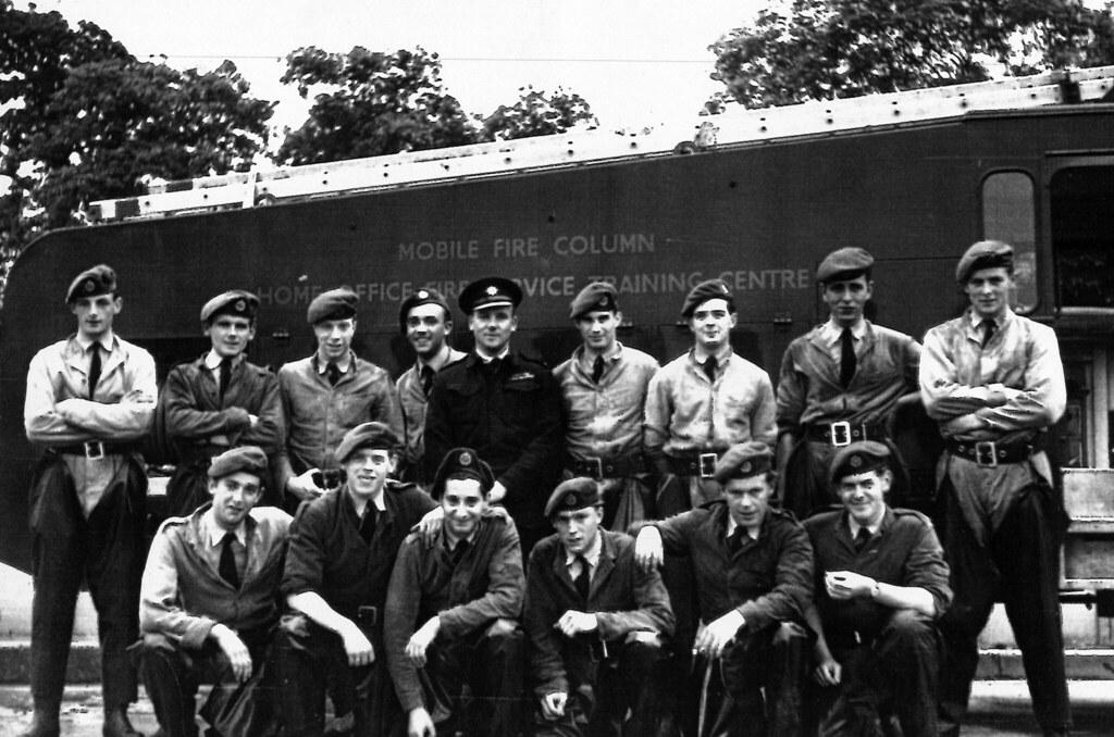 Fire Service Training Centre, 1950s