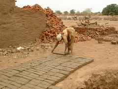 Brick Making - Sudan (UNEP Disasters & Conflicts) Tags: africa sudan training environment climatechange drought conflict disaster peace development bricks woman brickmaking unep unenvironment