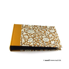 Photo Album Renaissance Flower yellow (nauli.nauli) Tags: flowers floral handmade photobook blumen bookbinding photoalbum weddingalbum handgemacht fotoalbum madeingermany nauli reanissance handgebunden geblmt hochzeitsalbum handmadeingermany