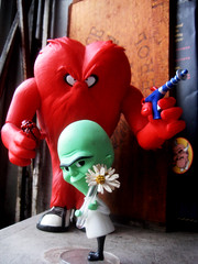 Valentine Monsters 3541 (Brechtbug) Tags: from nyc flowers red test flower bunny green water monster price toy toys jones big lab hare day with heart action head or coat cartoon tube vincent like voice science valentine bugs mel every human warner figure animation horror daisy valentines chuck animated monsters rudolph mad tunes looney gossamer creature bros haired blanc cartoons named scientist unibrow titles 1952 2013 02142013