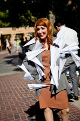 Paperman - 28 (crimsonyte) Tags: paper costume cosplay disney short pixar planes animation paperman wendybird disneyanimation misswendybird