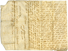 Katherine Stewart to laird of Comrie, 19 March [16]89 (P&KC Archive) Tags: family food history fashion children scotland women 17thcentury religion perthshire marriage domestic revolution monarchy perthandkinross palaeography ecsochistory historicaldocument