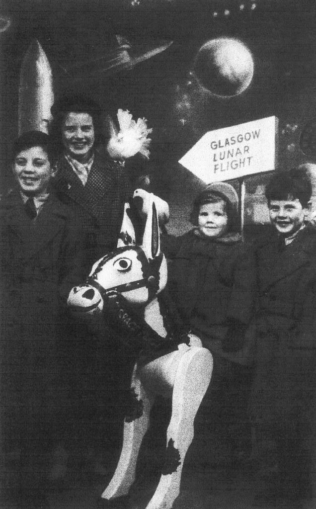 Glasgow Lunar Flight Exhibition 1950s