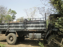 SPLM-N photo showing a vehicle they claim to have seized from the Sudanese army in Mafo in Blue Nile state. Feb 2013 (Sudan Tribune) Tags: military sudan saf bluenile mafo mufu sudanarmedforces splmn