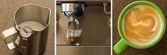 Milk + Espresso (michaelTO) Tags: toronto ontario canada coffee milk triptych silvia espresso 365 cappuccino day52 rancilio ranciliosilvia project365 2013 day52365 365the2013edition 21feb13