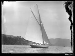 Yacht RAWHITI at Pittwater