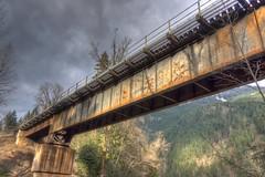 Old Rusty (Erez Avramov) Tags: bridge light river rust iron columbia british fraser erez avramov susty