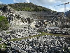 Ephesus great theatre (praccus) Tags: turkey selcuk ephesus ancientgreece seluk ancientrome