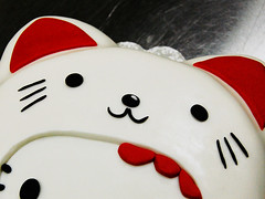 Hello Kitty Lucky Cat (Animated Cupcakes) Tags: hello cake cat snake hellokitty year kitty lucky luckycat yearofthesnake