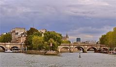 Paris la belle 2 (PULLKATT I'M BACK) Tags: bridge paris france seine de la cit ile pont
