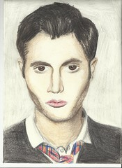 Penn badgley (Iris luyckx) Tags: drawings penn tekeningen badgley