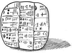Cuneiform Table (ily kerr) Tags: writing tablet cuneiform bronzeage