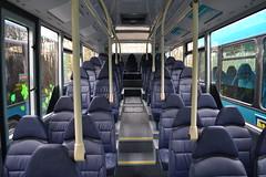 Arriva North West 5004 MX13AAO Interior (Will Swain) Tags: new uk england west bus buses march tour cheshire interior garage north gas trust vehicle depot restoration 13 3rd runcorn merseyside arriva 2013 5004 nwvrt mx13aao