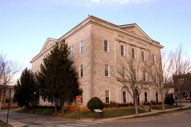 White County Courthouse - Winter 2013 - Sparta, TN