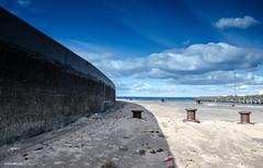 Sea Wall (BGDL) Tags: beach wall harbour ayr monthlytheme sunnytoday nikond7000 nikkor18105mm3556g bgdl flickrlounge elementsorganizer11 113picturesin2013