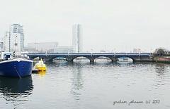 River Lagan (gmj49) Tags: bridge ireland water river sony belfast northern lagan gmj a350