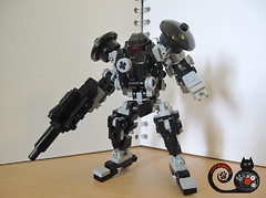 RF-2 (CAT WORKER) Tags: lego military mech moc mobilesuit