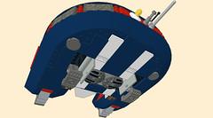 Marui-Lowered-Open2 (Hazatronic) Tags: flying lego scifi disc saucer marui mlcad moc ldraw