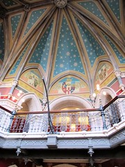 Part of the beautiful ceiling in St Pancras Hotel (janet7r) Tags: london painting blog celing stpancrashotel