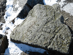 1876 (Sikaranista) Tags: winter dublin mountain nature rock mystery snowshoe climb newhampshire grand hike trail backpacking summit monadnock ascent 1876 jaffrey intrigue whitecross whitedot grandmonadnock monadnockstatepark