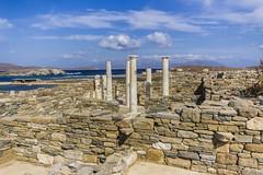 El sagrado islote de Delos (Nebelkuss) Tags: mar mediterranean mediterraneo greece grecia greekislands islas egeo aegeansea cicladas delosymykonos
