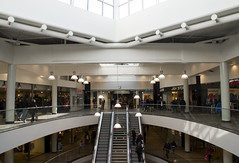 Let's go to the mall (DavidAndersson) Tags: people architecture mall shopping sweden interior escalator trollhttan tamron18200f3563 verby kpcenter