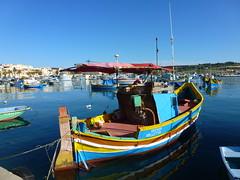 Harbour scene (seanofselby) Tags: boats fishing harbour malta marsaxlokk