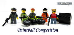 Paintball Competition (WhiteFang (Eurobricks)) Tags: city castle lego 10 space pirates fantasy series collectable minifigures