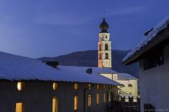 Campanile S. Sisto Caldonazzo (Luca Margoni) Tags: corte chiesa campanile cupola neve trapp sansisto caldonazzo