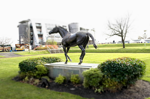Red Rum Statue Aintree by Paolo Camera, on Flickr