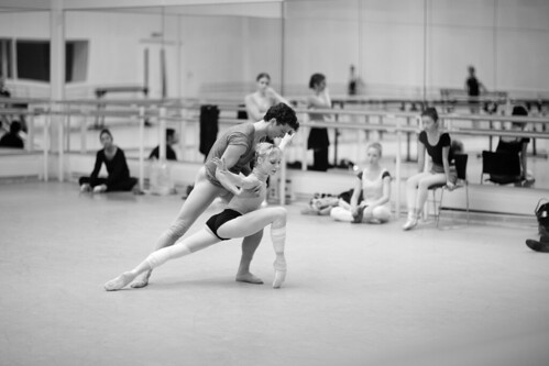 Royal Ballet dancer releases book of behind-the-scenes photographs