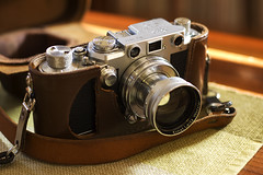 Leica iiif in a Zorki 6 case (K/W Vintage Camera Club) Tags: zorki leica 6 diy ernst case german russian wetzlar leitz zorki6 everready