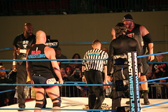 Jeff Hardy & Kurt Angle vs Bully Ray & D Von