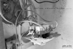 beim renovieren 3 (peter pirker) Tags: light bw house canon austria licht österreich haus kärnten carinthia kabel cabel stecker schwarzweis seeboden peterfoto eos550d peterpirker homerenovieren