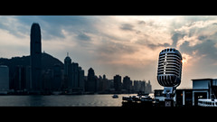 Elvis & The Hong Kong Skyline (Splice Studios Singapore) Tags: classic tourism mike beautiful rock architecture zeiss 35mm vintage movie asian hongkong asia widescreen stage sony elvis voice cybershot hong kong rockroll sound microphone letterbox hip mic fullframe oriental 55 cinematic audio spokenword kenn splice shure sounddesign carlzeiss filmlook dontsteal super55 2391 shure55sh sh55 soundsgood donotsteal fullframesensor classicmicrophone voiceovers rx1 vintagemicrophone askpermission cameraoftheyear movielook 55sh audiopost givecredit delbridge shuresh55 dscrx1 sonyrx1 sonydscrx1 kenndelbridge splicestudios zeiss35mmsonnartf20