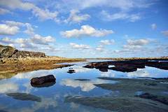 Stony Creek (jaroslavd) Tags: reflection water clouds landscape rocks australia nsw stonycreek jervisbay boodereenationalpark