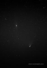 Smudges in the Sky (vincenzzo) Tags: nikon galaxy m31 comet panstarrs Astrometrydotnet:status=solved andromida Astrometrydotnet:version=14400 vincenzzo copyrightvincegiovinazzo2013 Astrometrydotnet:id=alpha20130409776664