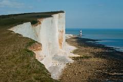 Beachy Head (hutchyp) Tags: sea lighthouse beach water sussex chalk head cliffs east beachy