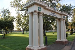 1939-45 Memorial arch at the Prospect Memorial Gardens (Community History SA) Tags: signs adelaide prospect interpretive heritagetrail southaustraliasa175