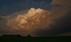 Escape (Eye of the Storm Photography) Tags: clouds landscape kansas supercell