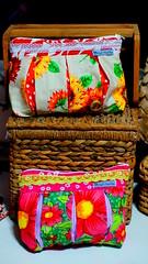 Necessaire Cores do Brasil (Ateli Mari Martins) Tags: brazil brasil artesanato chita tecido necessaire chito