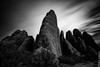 Eroded (Eddie 11uisma) Tags: park white black southwest monochrome mono landscapes long exposure desert arches national eddie lluisma