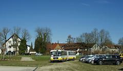 Der OCM-Gelenkbus startet auf eine neue Runde zur Messe (Frederik Buchleitner) Tags: man bus munich münchen shuttle messe omnibus shuttlebus bauma gelenkbus ocm messemünchen sg240h omnibusclub omnibusclubmünchenev mxa4498h