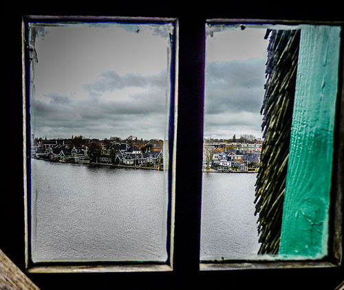 View from a windmill window